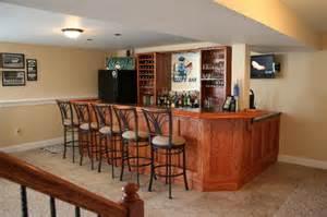 basement bar pictures