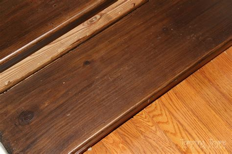 Oak Banisters Staining Pine Stair Treads Tempting Thyme