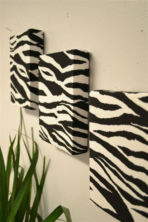 Zebra Print Decor by 1000 Ideas About Fabric Wall Hangings On