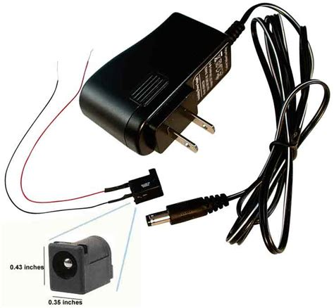 Adaptor 12 Volt 3 Ere 12 volt dc adapter transformer wire switch more
