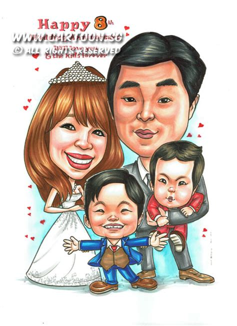 Wedding Anniversary Gift Shop In Singapore by Sg Singapore Caricature Artists For Gifts