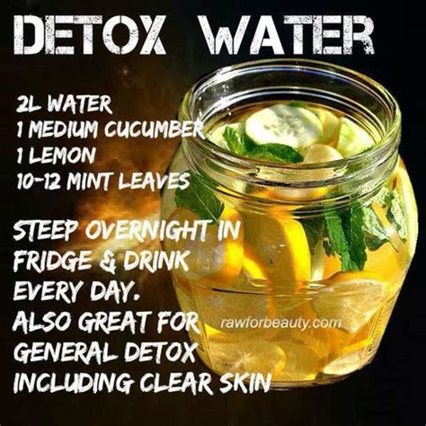 Water To Detox Your by Lemon Detox Water Fitness
