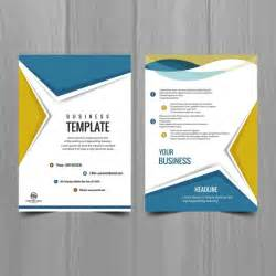 Brocher Template by Modern Brochure Design Vector Free