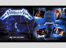 Metallica - Ride The Lightning 1984 (Full Album) - YouTube Metallica Ride The Lightning Tour