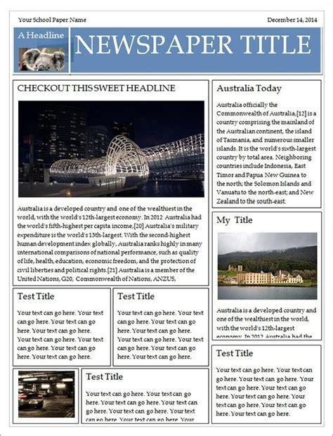 Newspaper Template Microsoft Publisher World Of Label Newspaper Template Publisher