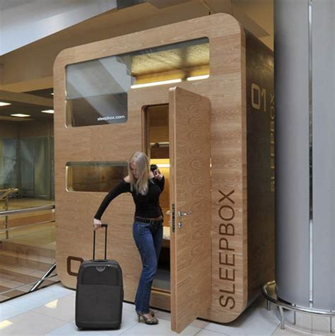 bed airport wordlesstech first airport installation of sleepbox
