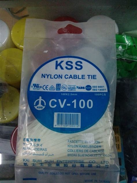 Kabel Ties 10 Cm jual kabel ties tis kss cv 100 10cm cable ties tie