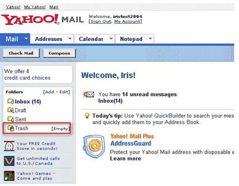 recall email yahoo mail how to retrieve deleted emails from yahoo using some steps
