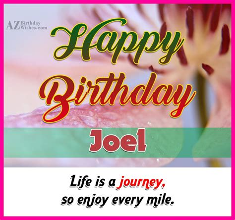 imagenes de happy birthday joel happy birthday joel