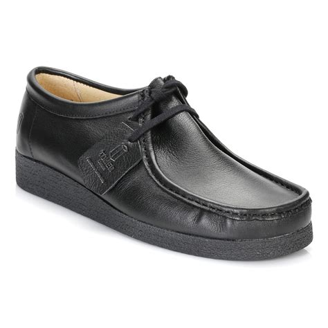 back to school shoes tower mens womens black napa leather wallaby back to