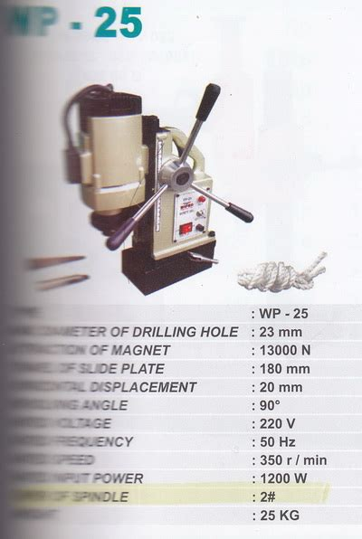 Bor Magnet Wipro product of machineries peralatan mesin supplier
