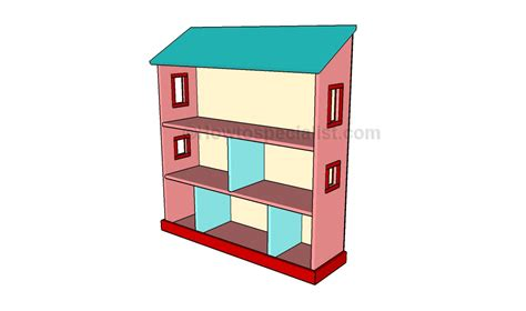 build doll house how to build a dollhouse bookcase howtospecialist how to build step by step diy plans