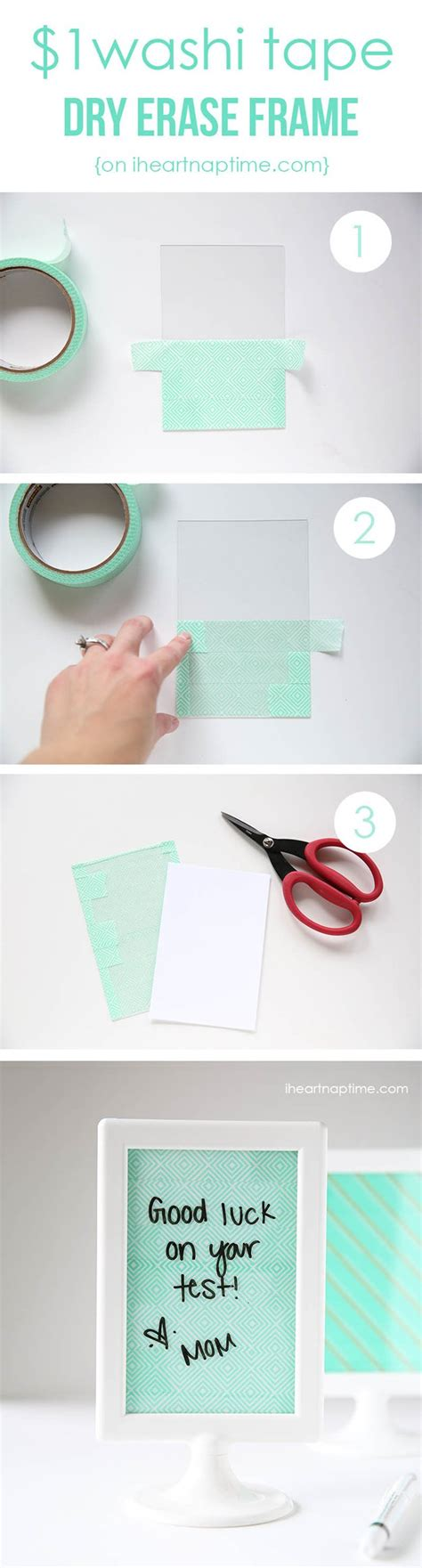 Washi Tape Diy | 100 creative ways to use washi tape diy crafts
