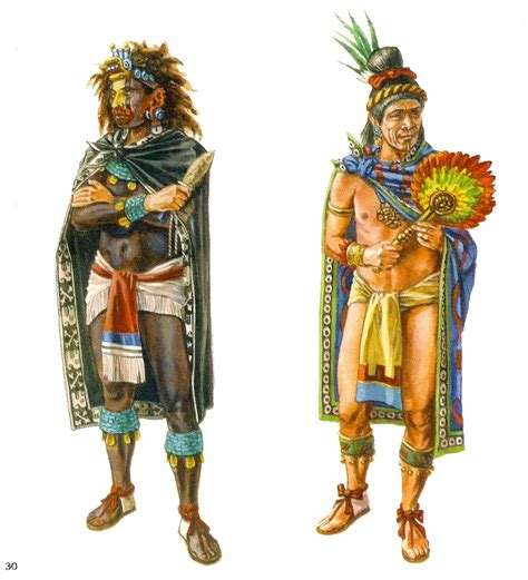 imagenes de vestimentas aztecas miniaturas militares por alfons c 192 novas mexico vestuario