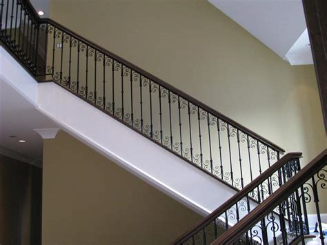 wrought iron stair railing stair railing vancouver wrought iron railing edmonton toronto