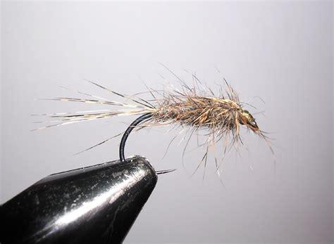 grey nymph pattern river don trout flies
