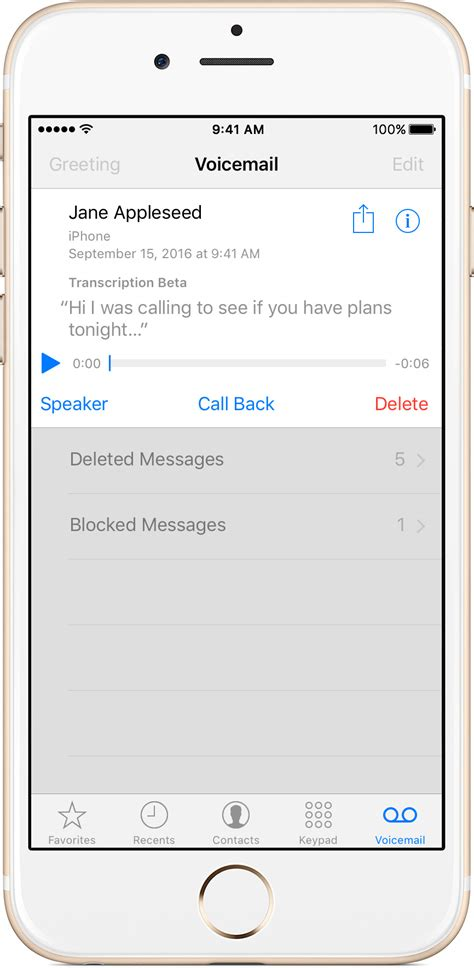 Phone Lookup Voicemail How To Save Visual Voicemail Messages On Your Iphone Apple Support