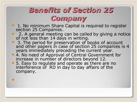 section 25 companies act section 25 company registration in india http www