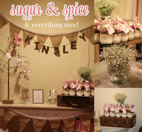 themes nice girl sugar spice everything nice baby shower sugaring