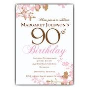 90th Birthday Party Invitations Reignnj Com 90s Invitations Template Free