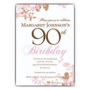 90 Birthday Invitation Templates by 90th Invitation Template Http Webdesign14