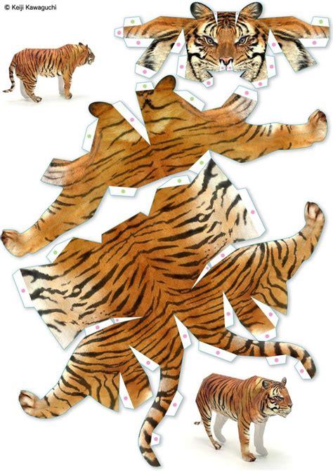 Tiger Papercraft - 18