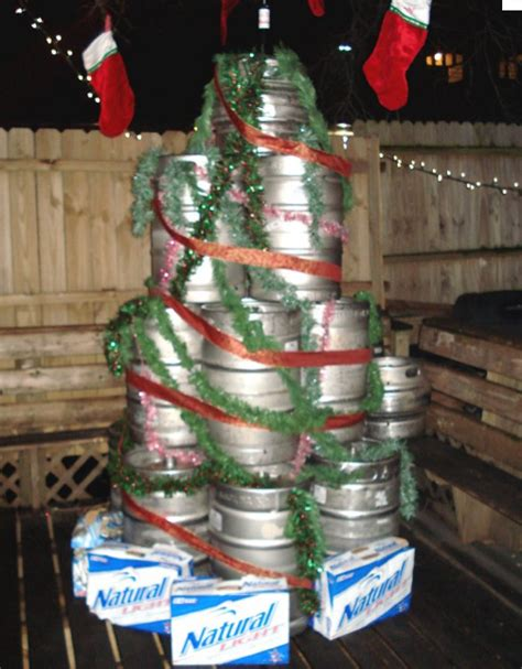 the most white trash christmas trees in existence