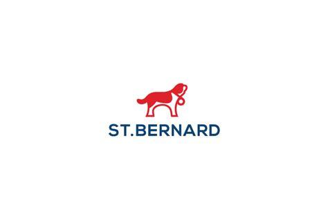design a logo st sold st bernard dog logo design logo cowboy