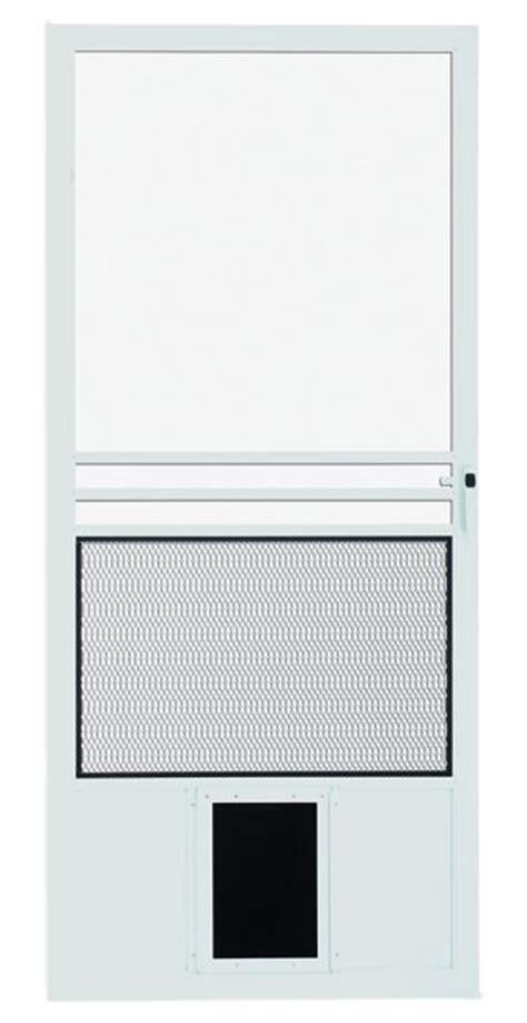 Sliding Screen Door With Pet Door by Pet Doors In Screen Doors And Glass Patio Doors