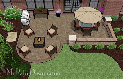 deck furniture layout tool patio ideas deck furniture dreamy brick patio patio designs and ideas