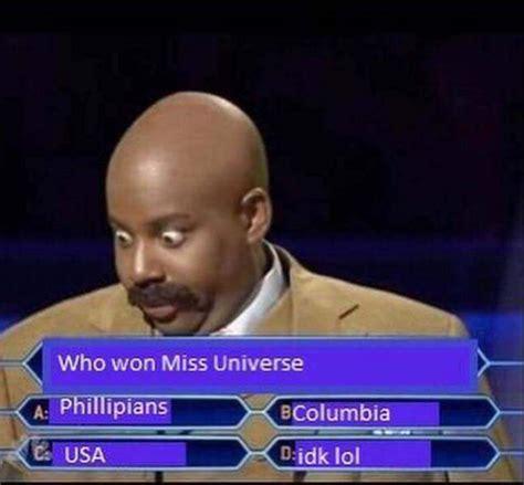 Steve Harvey Memes - steve harvey announces wrong winner at miss universe