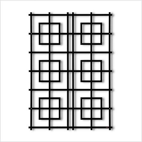 rankgitter aus metall garten im quadrat wandspalier modernes rankgitter
