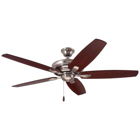 emerson laclede eco ceiling fan emerson laclede eco 62 in brushed steel ceiling fan