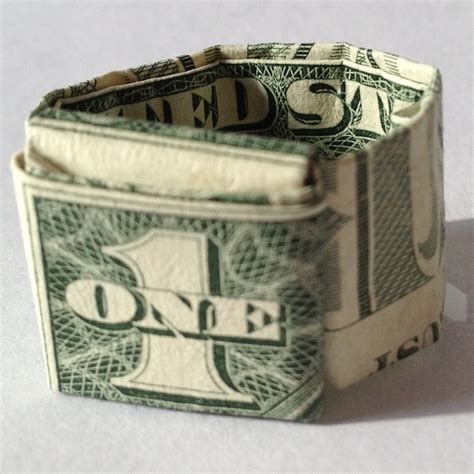 How To Make A Origami Dollar Ring - origami ring dollar driverlayer search engine