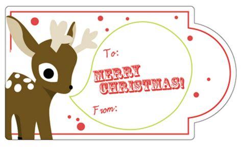 printable reindeer christmas tags the inspired creative one 20 free printable gift tags