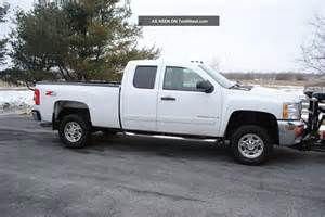 2008 chevy silverado 2500 hd 4x4 towing package western