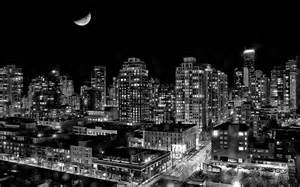 city black light in the city of vancouver columbia canada