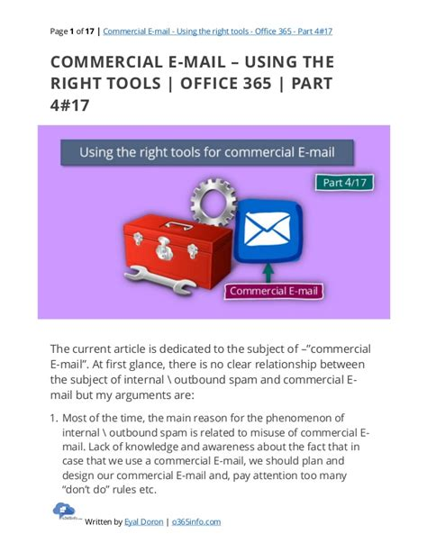 E Mail Zurückrufen Office 365 Commercial E Mail Using The Right Tools Office 365