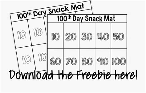 100 day counting mat and the randnom ness begins minds at work