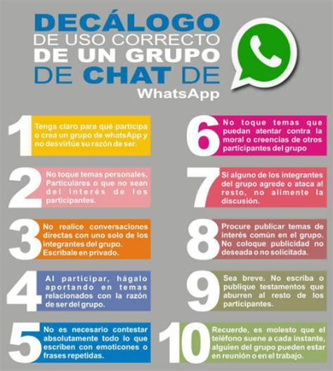para que sirven las cadenas falsas de whatsapp reglas m 237 nimas para grupos