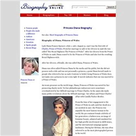 lady diana biography in hindi princess diana biography biography online auto design tech
