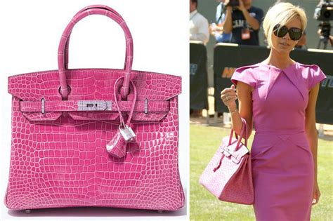 Beckhams Hermes Birkin by Britain S Most Expensive Handbag Revealed Hermes Birkin