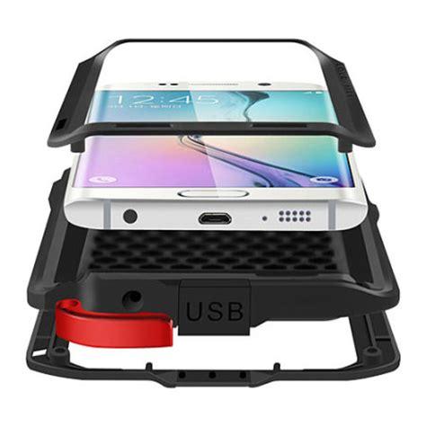 Samsung S6 Edge Mei Powerful Casing Cover Armor Bumper mei powerful samsung galaxy s6 edge protective