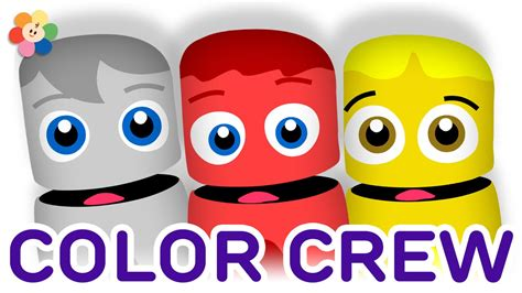 crew colors color collection 1 white yellow learning colors