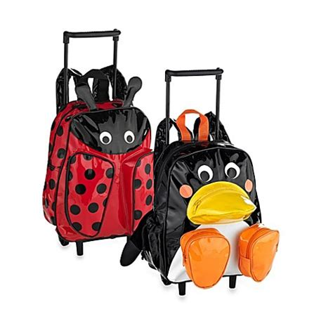 pull along trolley and backpack bed bath beyond