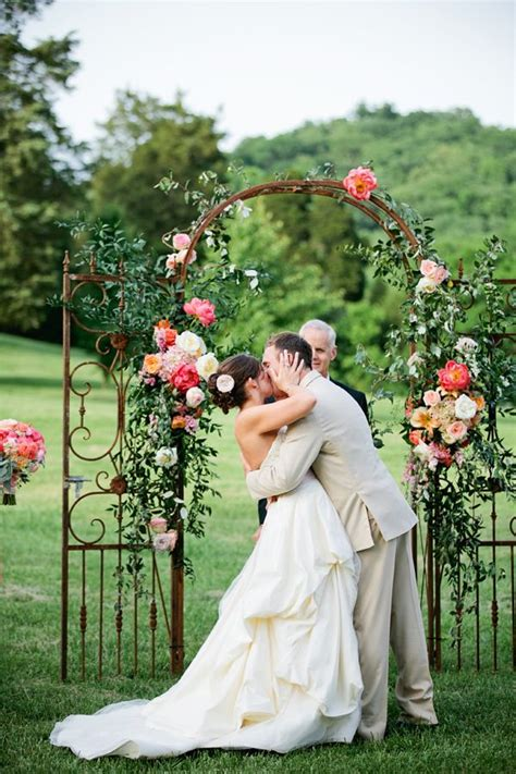 sle of wedding ceremony unique wedding arch inspiration floral canopy
