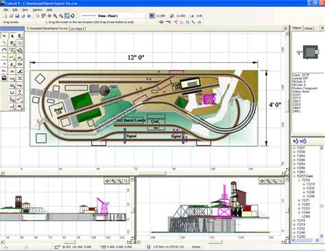 sandia software cadrail model railroad layout design cadrail file extensions