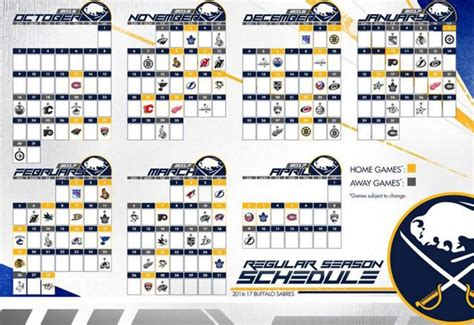 buffalo sabres release 2016 17 schedule