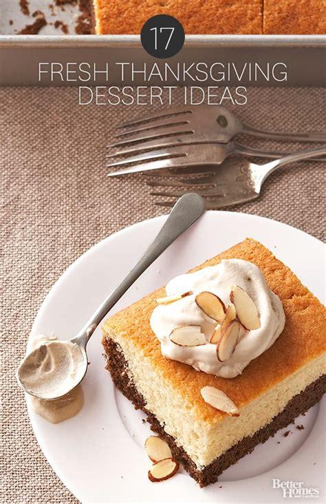 17 fresh thanksgiving dessert ideas