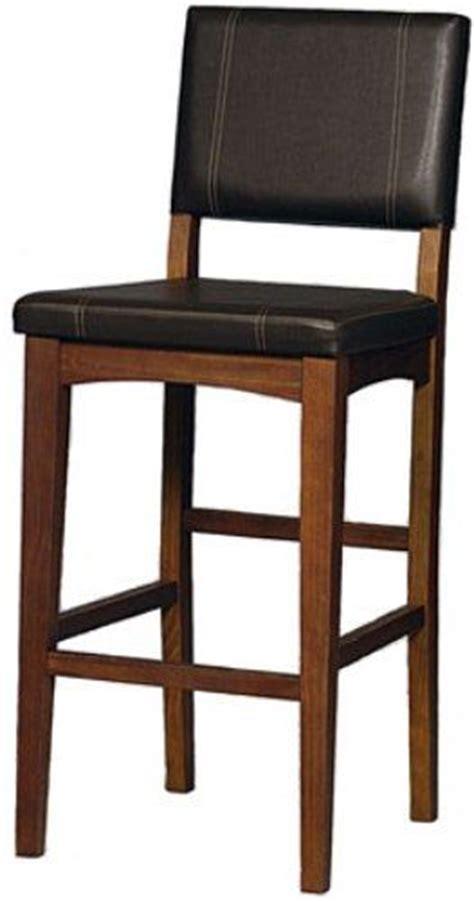K D Furniture Bar Stools by Linon 0211vbrn121 01 Kd 30 Inch Bar Stool Walnut